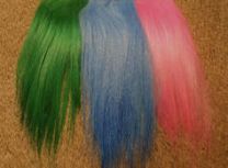 Cashmere Goat Streamer Hair