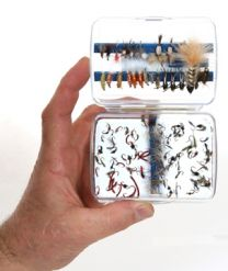 Cliff's Day's Worth Fly Box
