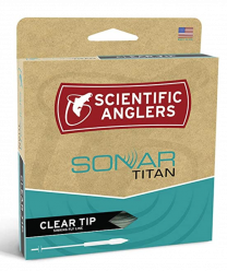 Scientific Anglers Sonar Titan Taper Clear Tip
