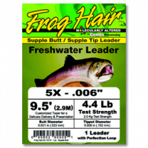 Frog's Hair Leader Spring Creek 12' 4X
