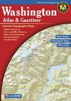 Delorme Atlas & Gazateer - Washington
