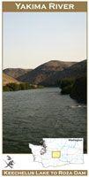 Map Yakima River, Wa
