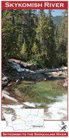 Map Skykomish River. Wa