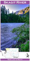 Map Skagit River. Wa