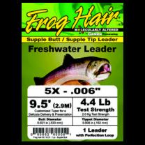 Frog's Hair Leader Spring Creek 12' 4X
