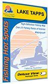 Lake Tapps Fishing Map