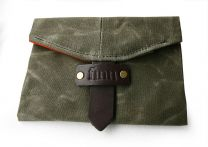Finn Leader Wallet - Olive